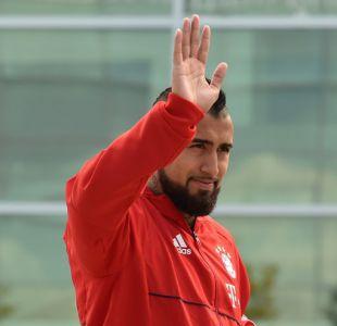 """Vidal y encuentro con Rueda: """"Me dejó una muy buena impresión, se nota que sabe mucho de fútbol"""""""