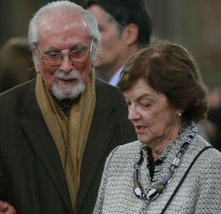 Militantes de la DC envían mensajes de condolencia a Andrés Aylwin tras la muerte de su esposa