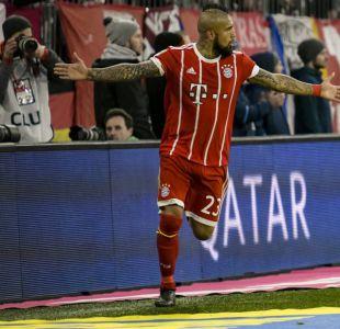 """Vidal quiere seguir en el Bayern: """"No pienso en un cambio, mis hijos están muy contentos aquí"""""""