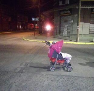 Lautaro: Mujer abandonó a su hija de 10 meses en plena calle