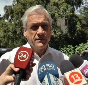 [VIDEO] Operación Huracán: Piñera promete cambios a Ley Antiterrorista