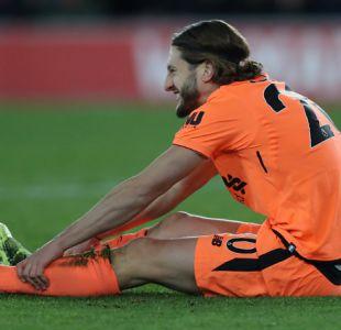 """La impactante foto de jugador de Liverpool con sus pies """"congelados"""" por exceso de frío"""
