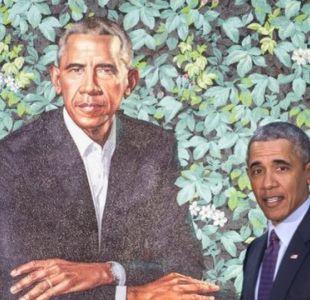 Jazmines, lirios y crisantemos: qué simbolizan las flores en el retrato oficial de Obama