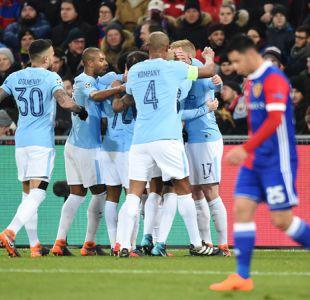 Manchester City golea sin problemas a Basilea y pavimenta su clasificación en Champions