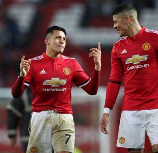 """Marcos Rojo y Alexis: """"Es mejor que estemos del mismo lado, ya que siempre terminábamos pateándonos"""""""