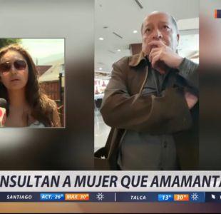 Mujer que amamantaba fue agredida verbalmente en un centro comercial