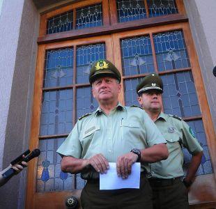 Huracán: Carabineros desvincula a tres oficiales y al creador de Antorcha tras sumario