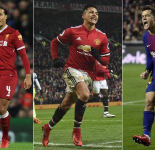 Cinco grandes ligas europeas gastaron un 70,6% más en el mercado de enero