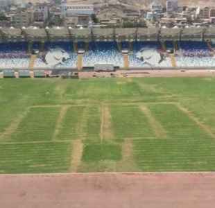 Festival de Antofagasta daña el césped del estadio regional