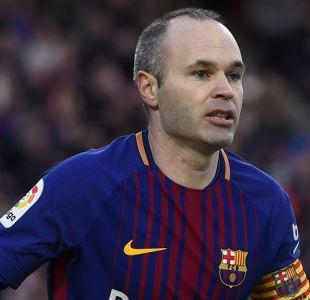 Técnico del Barcelona niega los rumores sobre la salida de Andrés Iniesta a China