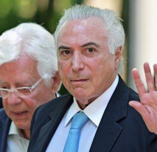 Michel Temer viaja a Rio a definir nuevo dispositivo de seguridad
