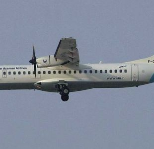 Un avión se estrella en Irán matando a las 66 personas que iban a bordo