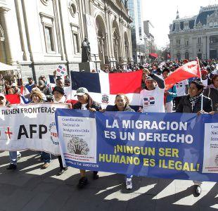 """Inmigrantes en Chile piden """"eliminar fronteras creadas por el Gobierno"""""""