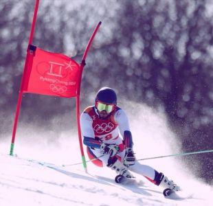Chileno Kai Horwitz se sale de la pista y es descalificado del Slalom Gigante en PyeongChang