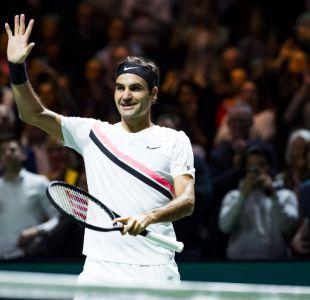 Roger Federer conquista por tercera vez el ATP de Rotterdam