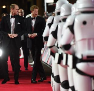 Por qué los príncipes Harry y William no quisieron aparecer en Star Wars