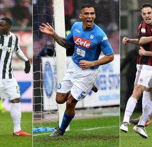Napoli resiste la presión de la Juventus y AC Milan estira su invicto en Serie A