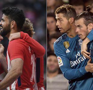 Atlético de Madrid aguanta el ritmo del Barcelona y Real Madrid confirma recuperación