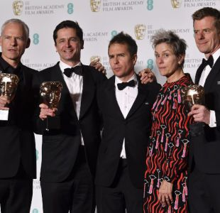 Tres anuncios por un crimen triunfa en los premios BAFTA 2018