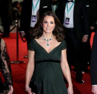 [FOTOS] Kate Middleton luce su embarazo en los Premios BAFTA 2018