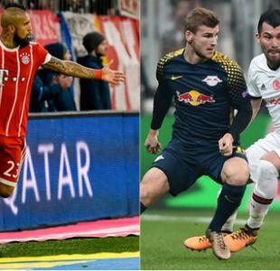 ¿Cómo llegan el Bayern de Vidal y el Besiktas de Medel a su enfrentamiento por la Champions?