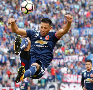 Christian Vilches abandona práctica de Universidad de Chile