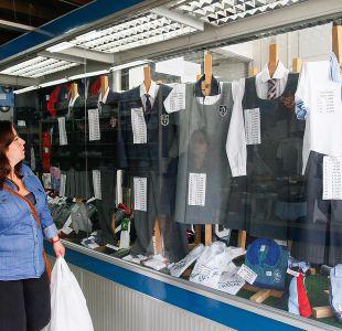 Sernac detecta diferencias de hasta un 375% en precio de uniformes escolares