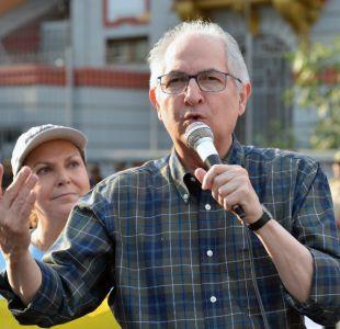 Ledezma pide a la comunidad internacional que intervenga en Venezuela