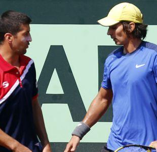 Julio Peralta avanza y Hans Podlipnik es eliminado en dobles del ATP de Río de Janeiro