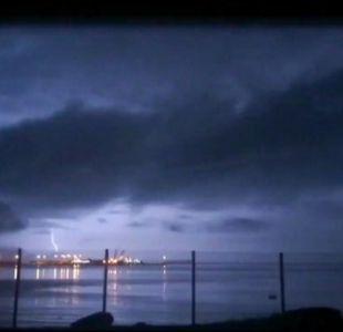 Dirección Meteorológica emite aviso por tormentas eléctricas en la zona norte del país