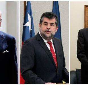 Silva, Ubilla y Alvarado: los hombres clave en la segunda línea del gobierno