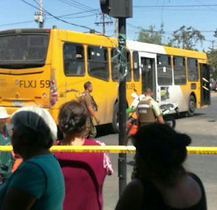 La Granja: Menor de edad fallece tras ser atropellado por bus del Transantiago