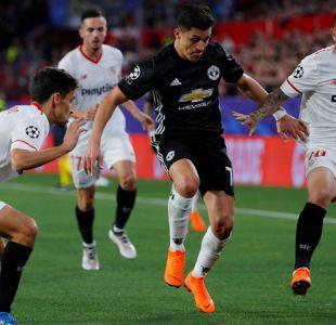 [Minuto a Minuto] Manchester United con Alexis igualó ante Sevilla por Champions