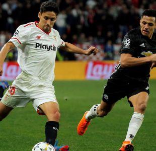 Alexis se estrena en Champions con empate del Manchester United ante Sevilla