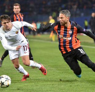 Shakhtar Donetsk derrota a la Roma en la ida de la Champions League