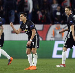 [VIDEO] Alexis Sánchez no destaca en empate del Manchester United
