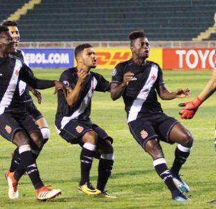 Vasco da Gama gana en penales y se mete en el grupo de la U en Copa Libertadores