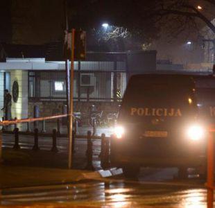 Atacan con artefacto explosivo la embajada de Estados Unidos en Montenegro