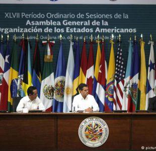 OEA votará este viernes si insta a Venezuela a que reconsidere su cita electoral