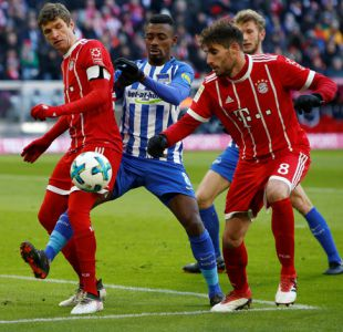[Minuto a Minuto] Bayern Munich de Arturo Vidal enfrenta a Hertha Berlín por la Bundesliga