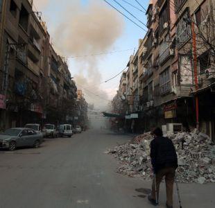 Las reacciones del mundo frente al ataque de EE.UU., Gran Bretaña y Francia contra Siria