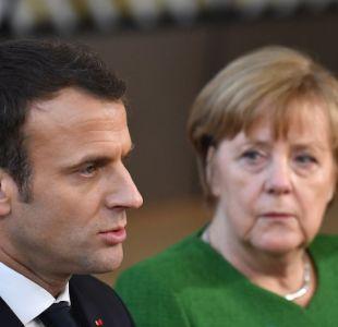 Macron y Merkel hablarán con Putin el domingo sobre la aplicación de la tregua en Siria