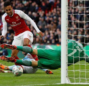 [Gol a Gol] Con Bravo titular el City enfrenta a Arsenal en la final de la Copa de la Liga