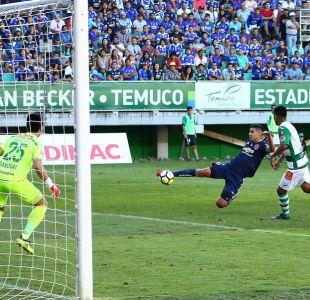 [VIDEO] Goles fecha 4: La U vence a Temuco en el Germán Becker