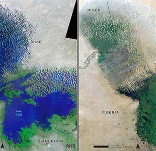 ¿Por qué el lago Chad, uno de los más grandes del mundo, ha perdido más del 90% de su superficie?
