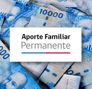 Bono Marzo: Consulta si recibirás el Aporte Familiar Permanente