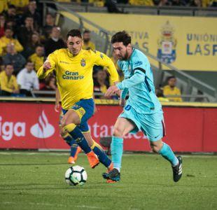 Barcelona tropieza ante Las Palmas a días de enfrentar a Atlético de Madrid