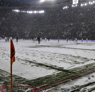 [VIDEO] La ola de frío que amenaza al fútbol y a otros deportes en Europa