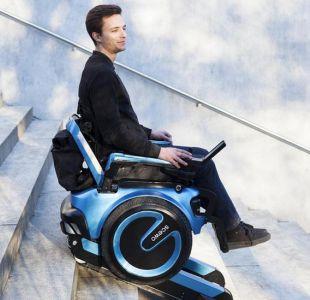 La revolucionaria silla de ruedas capaz de subir escaleras y salvar obstáculos
