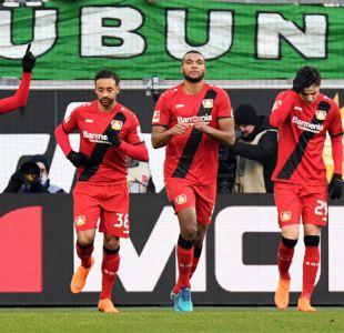 Charles Aránguiz participa en triunfo del Leverkusen que sube puestos en la Bundesliga